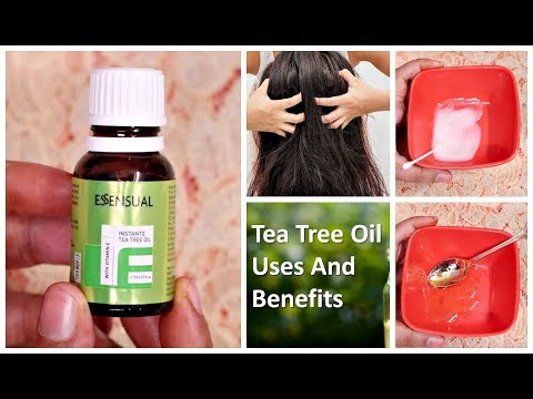 Top 5 Uses & Benefits of Tea Tree Oil For Skin & Hair | Beauty Benefits | Giveaway week