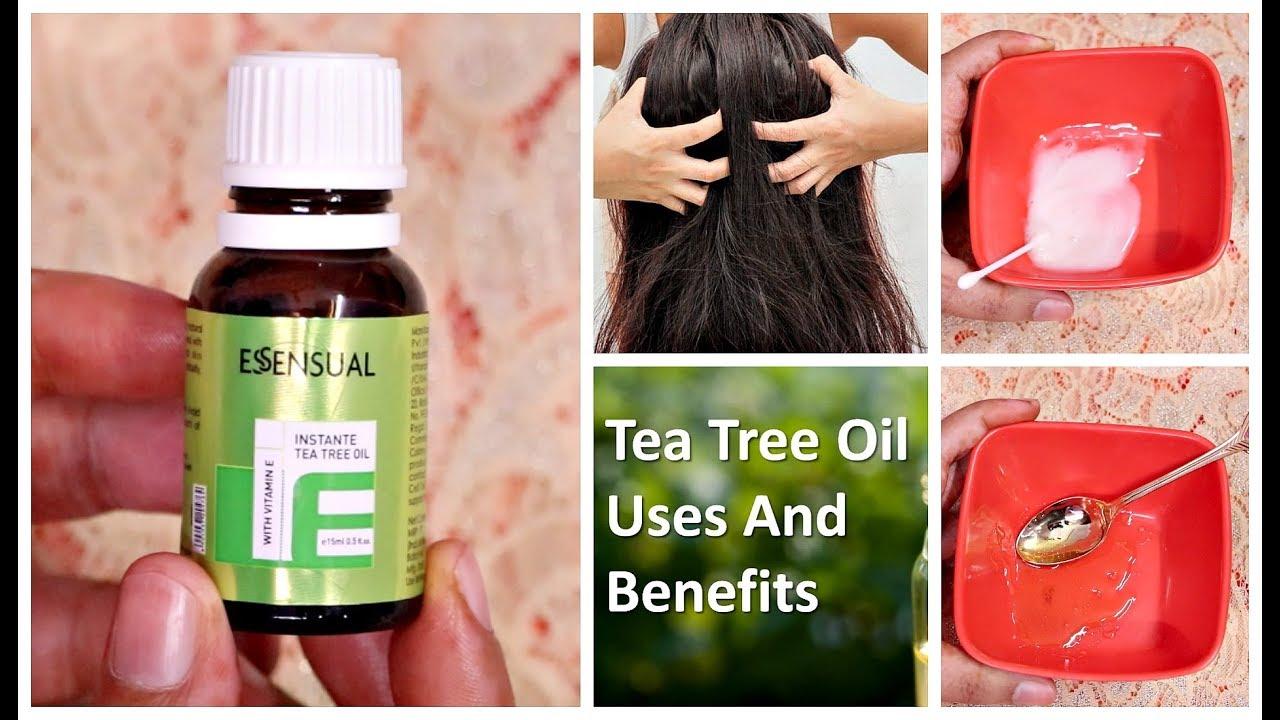 Top 5 Uses & Benefits of Tea Tree Oil For Skin & Hair | Beauty Benefits |  Giveaway week