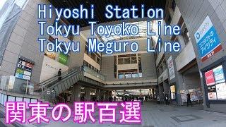 日吉駅に潜ってみた 東急東横線・目黒線 Hiyoshi Station Tokyu Toyoko Line · Meguro Line