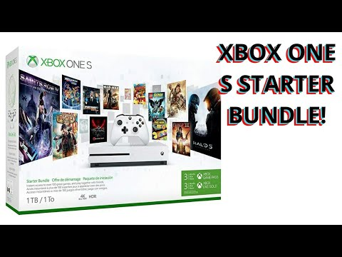 XBOX ONE S STARTER BUNDLE UNBOXING!