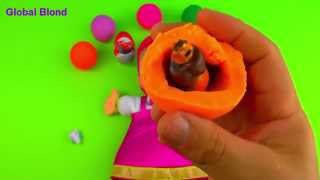 kinder surprise consumer product bc trứng c b siu quậy v ch gấu xiếc medved surprise eggs