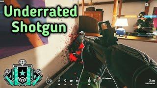 Hibana's Shotgun Is Amazing! : Xbox Diamond - Ranked Highlights - Rainbow Six Siege Gameplay