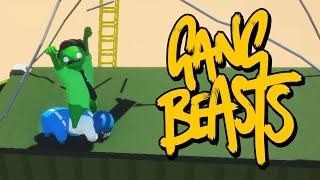 Gang Beasts - ПОШЛАЯ СЕРИЯ (Брейн и Даша)