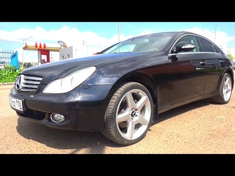 2007 Mercedes-Benz CLS 350 (W219). Start Up, Engine, and In Depth Tour.