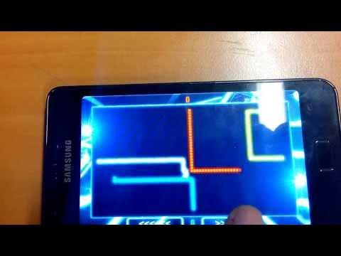Tron Snake jeu sur Android