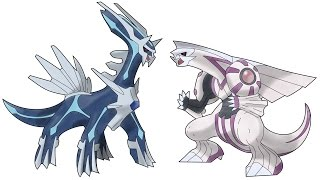 DIALGA AND PALKIA | SPEED DRAW | SPEED DRAWERZ