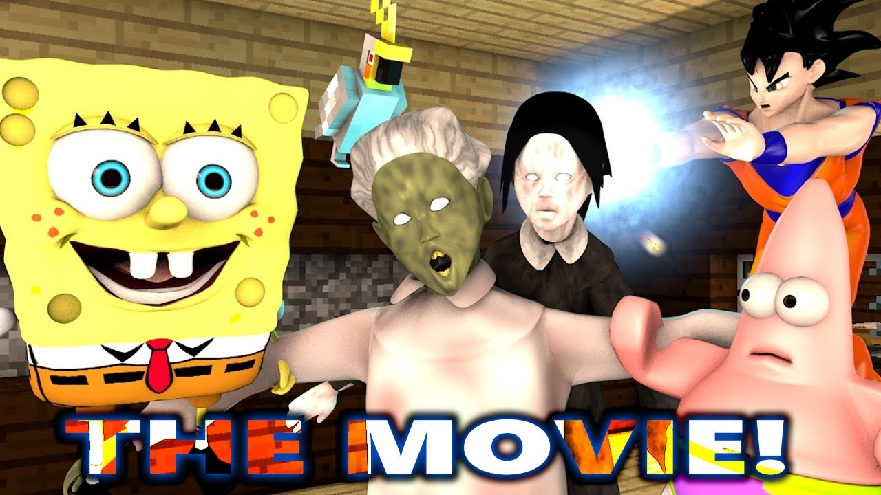 Download GRANNY vs SPONGEBOB IN MINECRAFT CHALLENGE THE MOVIE! (official) Minecraft Animation Game