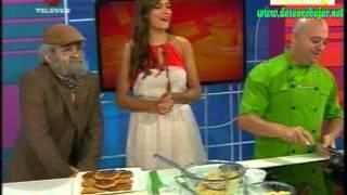 Cachapa Criolla Chef Gianni Fratipietro en Vitrina Televen
