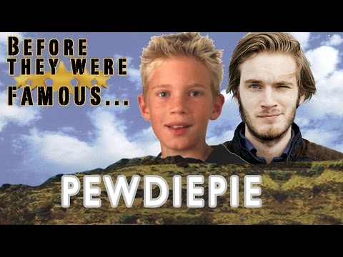 Thumbnail: Before They Were Famous - PewDiePie - ORIGINAL