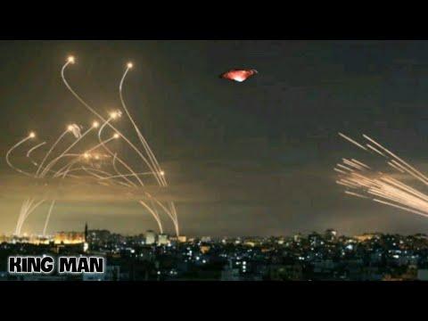 Ovni aparece mientras Israel utiliza su escudo antimisiles Domo de Hierro contra cohetes de Gaza