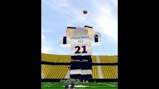 BACKWARDS DIVING CATCH! {Roblox} Legendary Football Highlights Pt.1