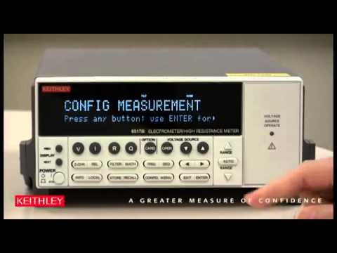 How To Enable the Meter Connect Feature on the Model 6517B Electrometer