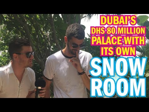Inside Dubai's most luxurious PRIVATE PALACE on The World!