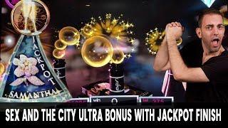 Finishing w/ JACKPOT on Sex and the City ULTRA Bonus + Wonka & MORE POKER