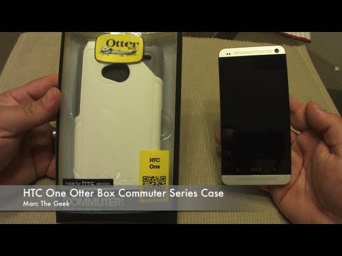 HTC One Otter Box Commuter Series Case