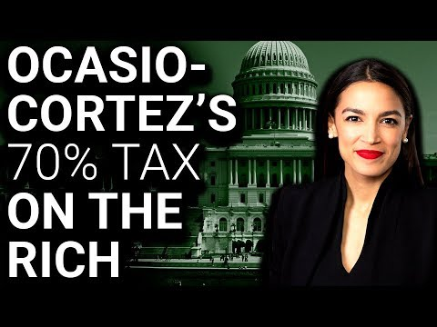 Image result for aoc 70% tax rate