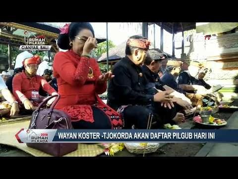 Ritual Sembahyang Jelang Daftar Pilkada Bali