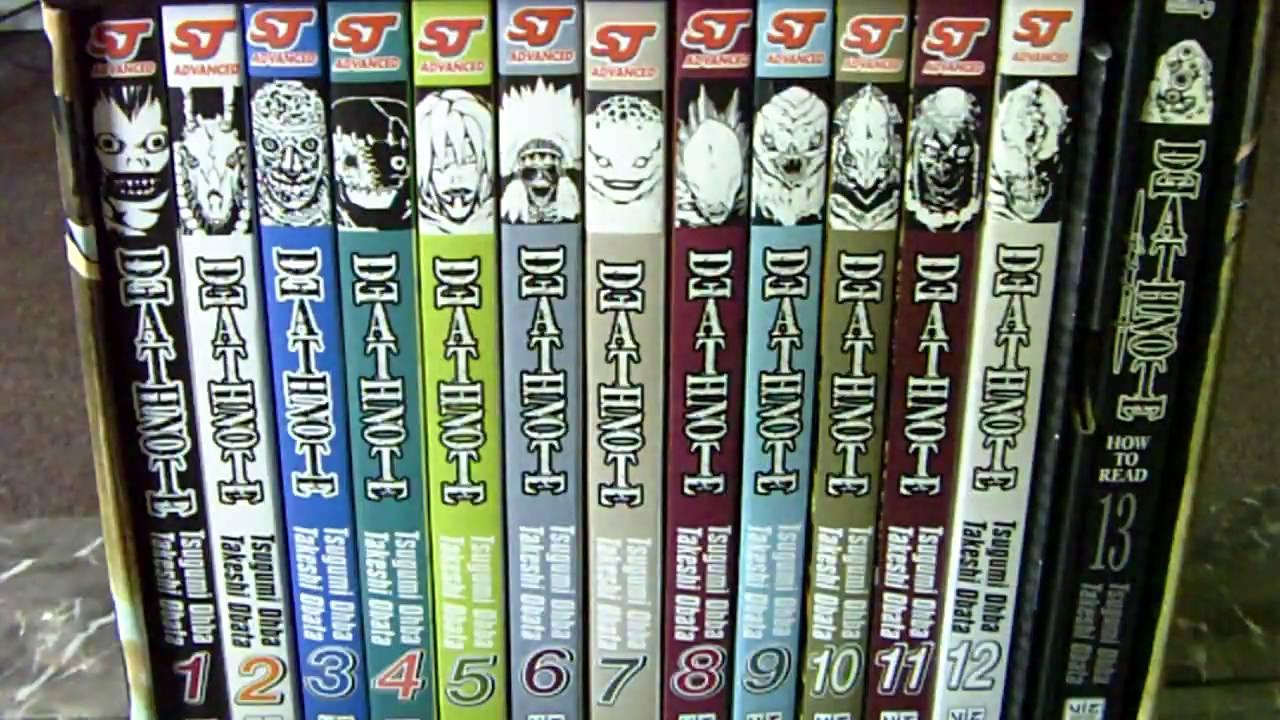 Deathnote manga boxset review youtube