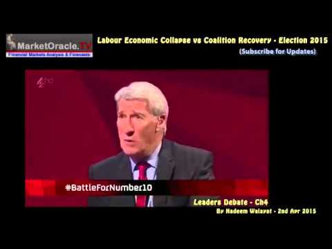 Labour Economic Collapse vs Coalition Recovery - UK Election Forecast 2015