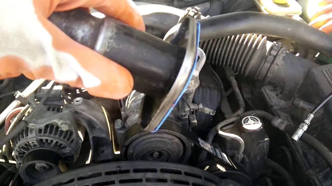 Engine Tune Up >> Replacing thermostat on jeep grand Cherokee zj - YouTube