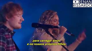 Download Lagu Ed Sheeran - Perfect Duet [com Beyoncé] (Tradução) Mp3