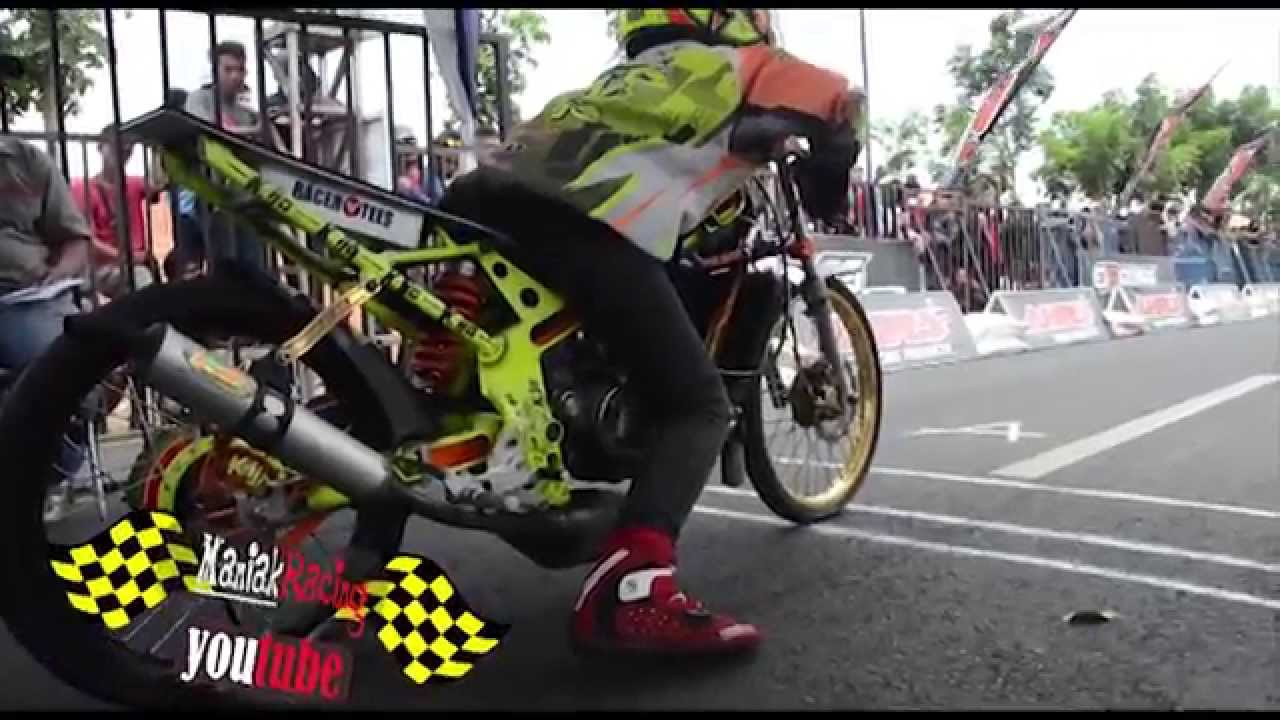 DRAG BIKE alvan cebonk best time FFA 06.921 Kawasaki Ninja ...