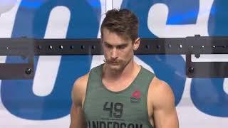 The 2018 CrossFit Games Individual Clean & Jerk Speed Ladder TOP 38