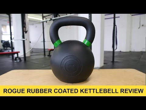 Rogue fitness rubber coated kettlebell review barbend