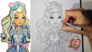 Como desenhar a Darling Charming de Ever After High
