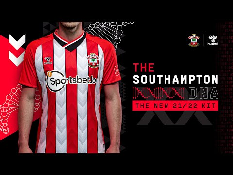 THE SOUTHAMPTON DNA: Saints unveil 2021/22 home kit in partnership with hummel