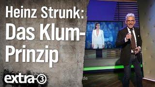 Experte für das Heidi-Klum-Prinzip Heinz Strunk