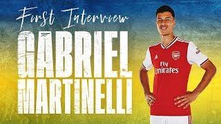 🇧🇷 Gabriel Martinelli's first Arsenal interview