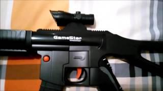 GameStar GA 615 PS3 Move Aksesuar Makineli Tüfek inceleme