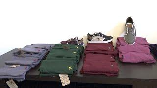 Diseñador vasco crea ropa y zapatillas solo con material reciclado