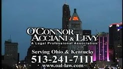 Cincinnati Car Accident Lawyers: O'Connor Acciani Lawyers