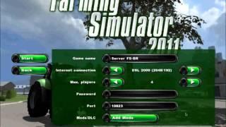 Farming Simulator 2011!!!Tutorial---Interface