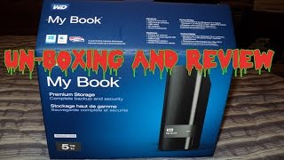 Western Digital 5TB External Hard Drive Unboxing and Review