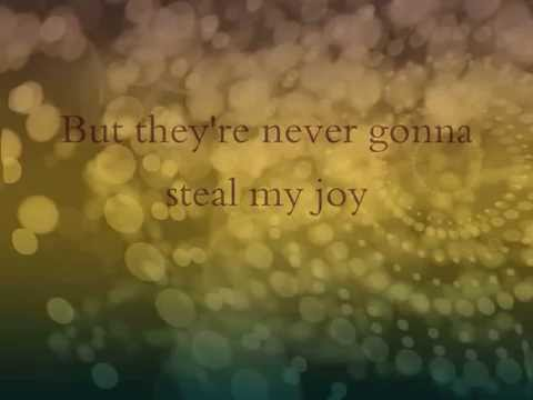 Never Gonna Steal My Joy - Mandisa (lyric video)