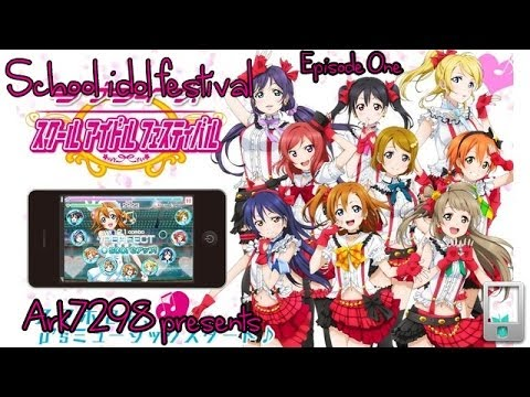 Love Live! School idol festival (English version) [iOS] - Ep. 1: Newcomer!