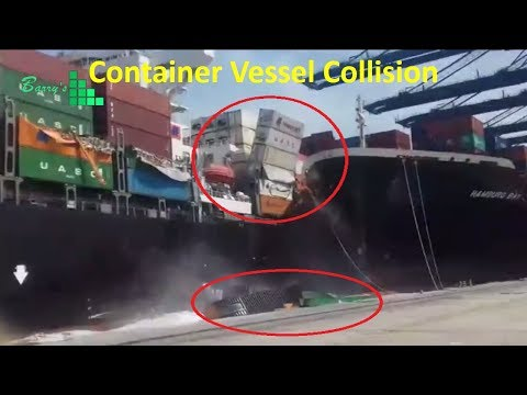 Container Vessel Accident at South Asia Terminal Karachi Pakistan
