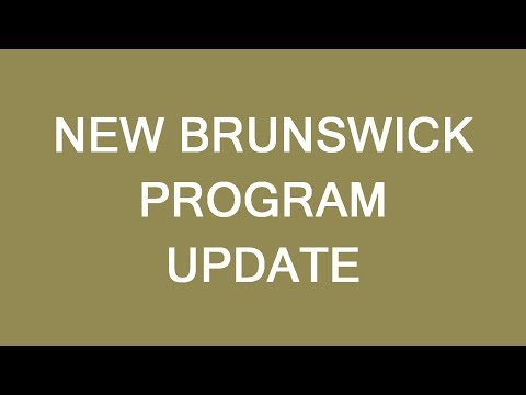 New Brunswick PNP update. Another good chance to immigrate t