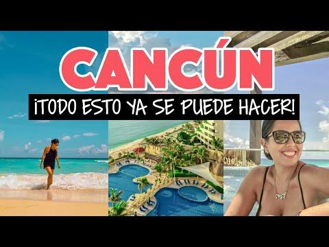 Cancún con playas abiertas y actividades en septiembre 2020
