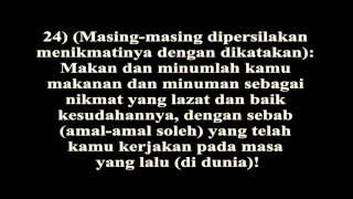 Video Surah Al Haqqah Terjemahan Indonesia download MP3, 3GP, MP4, WEBM, AVI, FLV Desember 2017