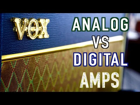 Analog vs Digital Guitar Amp Shootout