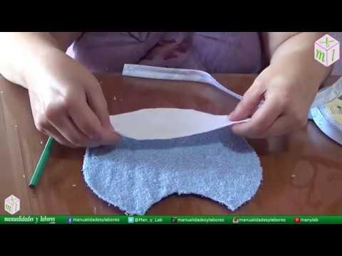 DIY - Cómo hacer un babero con Manualidades y labores