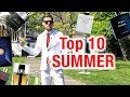 Top 10 Summer Fragrances for Men 2019