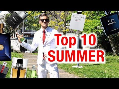 Top 10 Summer Fragrances For Men 2019