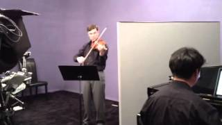 Nathan Cole, violin, Smetana Bartered Bride