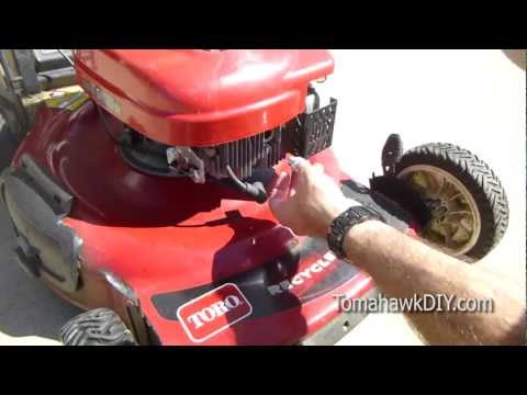 Simple Lawn Mower Tune-Up and Maintenance