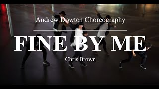 "Chris Brown - ""Fine By Me"" 